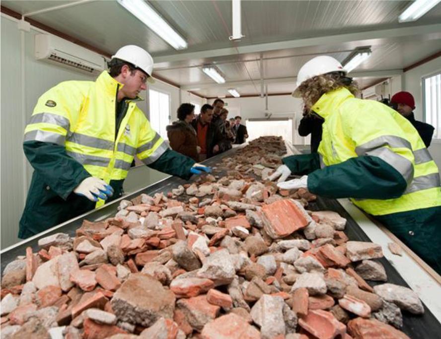 clasificacion materiales reciclados