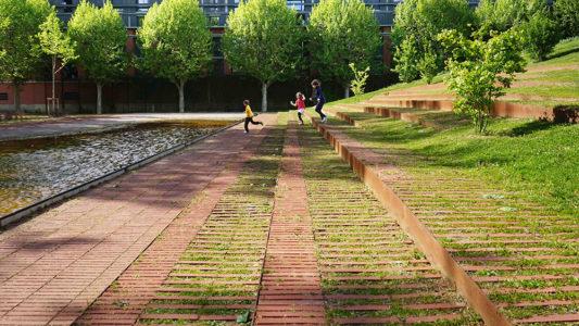 Le jardin Niel, en Toulouse, de Michèle&Miquel